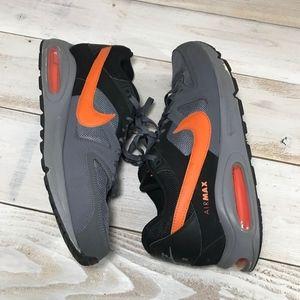 Nike air max command gray black orange Sneaker
